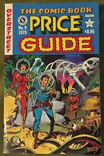 OVERSTREET COMIC BOOK PRICE GUIDE #10 (1980) F Condition Schomburg Cover Art!