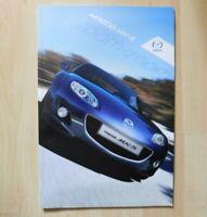Mazda MX-5 Brochure 2012 / 2013