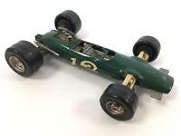 Vintage Green Lotus Car Climax F1 1/32 ART FK3 Made in Italy Polistil Diecast