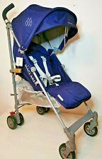 Maclaren Quest Buggy Kinderwagen Kinderkarre Stroller Blau Silber **NEU & OVP**