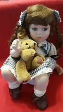 Geppeddo Collector Series Limited Edition porcelain doll #0494/1620-99' NWT