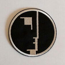 """BAUHAUS Post Punk Goth band embroidered iron on patch 3x3"""""""