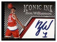 ZION WILLIAMSON Iconic Ink SLAM High School Card ACEO Cards Facsimile auto