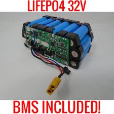 YOKU 18650 LIFEPO4 32V 3.1AH BATTERY EBIKE DIY POWERWALL EV WITH BMS 20 CELLS