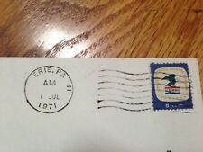 US Mail First Day of Issue  Envelope July 1, 1971