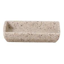 Sable Resin Bathroom/Kitchen soap dish (13 x 10 cm) | Metro