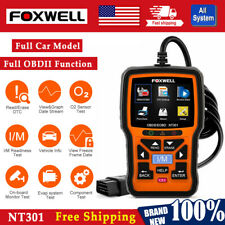 Foxwell OBD2 Universal Car Engine Check Code Reader Diagnostic Scanner NT301