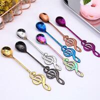 Long Handled Stainless Steel Coffee Spoon Small Ice Cream Dessert Scoop Decor