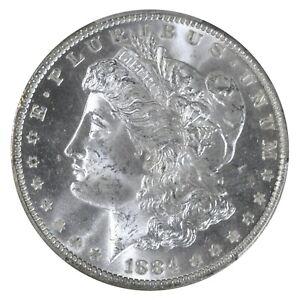 1884 O New Orleans Morgan Dollar PCGS MS 64