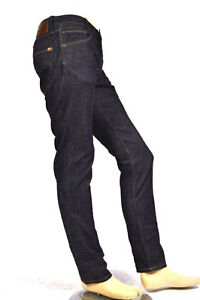 Pepe Jeans Pointe H05 Slim Fit Bleu Foncé Rinser Strammer Denim W30 W31 W33 W38