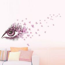 New ListingKids Girl Removable Room Wall Stickers Home Bedroom Art Mural Eye Shaped Decor