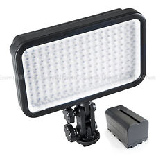 LED170 Camera DV Camcorder LED Panel Portable Video Lighting +Battery