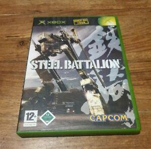 Steel Battalion Original Xbox Complete w/ Manual Very Rare