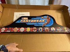 NOS N.I.B. NBA Fastbreak Pinball machine Topper