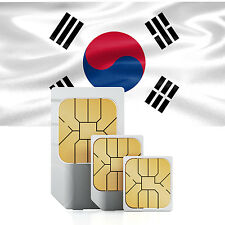 Data SIM card for South Korea with 500 MB for 30 days