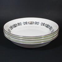 Royal Tuscan MONARCH Soup Bowls Set of 4 Bone China Bowl England