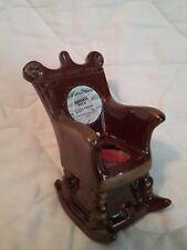 "Ceramic Rocking Chair Pin Cushion Vintage JAPAN 5.25"" tall Gateway Arch, Sewing"