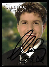 Claudio de Bartolo mío autografiada mapa original firmado # bc 44004