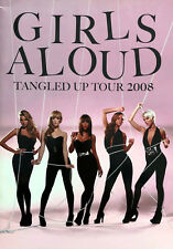 GIRLS ALOUD * TANGLED UP UK TOUR PROGRAMME * 2008 * HTF! * CHERYL * NADINE