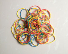 50pc DIY Mixed multicolor Office Supply Rubber Band Strong Elastic for Packing