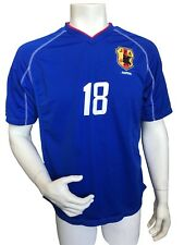 Japan National Team Football Soccer Jersey Blue World Cup No 18 Ono