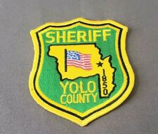 Yolo County California Sheriff Shoulder Patch