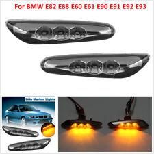 1 Pair LED Side Marker Light Turn Signal For BMW E82 E88 E60 E61 E90 E91 E92 E93