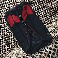 """New Gi Sportz Paintball Flyr Rolling Flight Bag - 21"""" - Black/Red"""