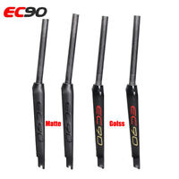 EC90 Carbon Fiber 700C Rigid Fork Road Bike Bicycle Cycling Forks Matt /Gloss