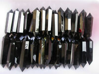 2.2lb NATURAL OBSIDIAN POLISHED CRYSTAL DT WAND POINT Healing