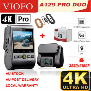 VIOFO A129 PRO DUO ULTRA 4K Dashcam DUAL CHANNEL 4K + HARDWARE KIT + CPL FILTER