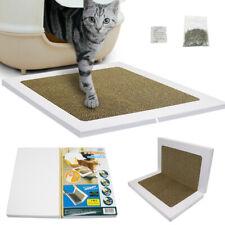 Cat Kitten Scratcher Scratching Pad Board Foldable Sisal Mat Claws Care & Catnip