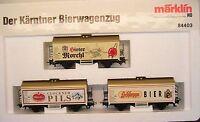 Märklin H0 84403 Der Kärtner Bierwagenzug mit drei Bierwagen-----X35