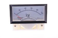 One Pcs 69c17 Class 25 Dc 0 100kv Range Analog Voltage Voltmeter Panel Meter