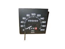 NOS TACHIMETRO 200km/h FIAT REGATA BENZINA SPEEDOMETER VEGLIA BORLETTI Tachometer