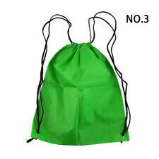 Nylon Drawstring Backpack Bag String Waterproof Sackpack Outdoor Sports Travel