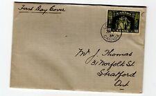 Canada 1934 Loyalists #209 plain addressed  FDC  CV $25