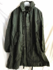 SILENT by DAMIR DOMA UNISEX GREEN LOOSE FIT PARKA SIZE XS