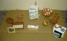 large bundle of old Sylvanian  Familes accessories some rare good condition lot3