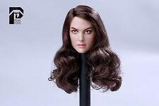 1/6 Lifelike Natalie Head Sculpt For Hot Toys Phicen Body  JIAOU Doll, Very Cool