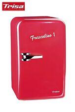"Mobiler Mini-Kühlschrank Trisa Frescolino "" Eco"" 17 liter rot  12 + 220 Volt"