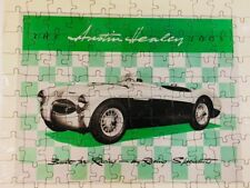 Vintage Austin Healy 100s green car Puzzle SEALED