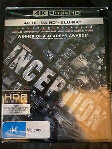 Inception - UHD 4K Blu Ray - Leonardo DiCaprio - Watanabe - Free Postage - New