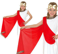 Childrens Greek Goddess Fancy Dress Costume Toga Grecian Girls Outfit L