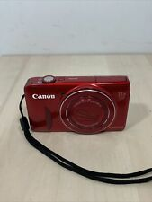 Canon PowerShot SX600 HS 16MP Digital Camera Wi-Fi Enabled Red