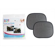 PACK DE 2 RIDEAUX PARE SOLEIL VITRE VOITURE PROTECTION  BEBE / ENFANT NOIR