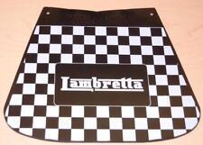 """Vintage Vespa and Lambretta scooter mudflap 8"""" X 9"""" Lambretta old logo 131/SL"""