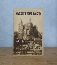 DOUBS FRANCHE-COMTE MONTBELIARD ET PAYS DE MONTBELIARD HISTOIRE TOURISME (ILL.)