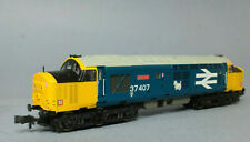 GRAHAM FARISH 371-165 Class 37/4 37407 Loch Long BR Blue DCC Ready N gauge