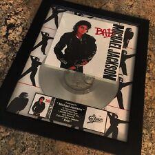 Michael Jackson BAD Music Award Record Album Disc